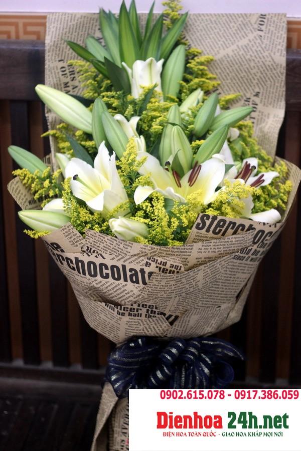 Bó Hoa Ly Đẹp